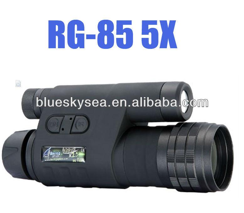 Gen1wake BE-85 infravermelho escuro Night Vision IR Monocular binóculos telescópios 5X