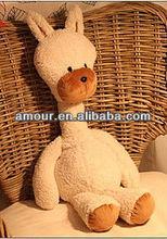 soft cute alpaca toys stuffed white sheep big dolls for kids cheap wholesale animal stuff