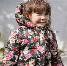 2012 combed heavy cotton children thick coat
