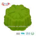 Novo design de silicone bolo molde de flor de venda quente com lfgb& certificado do fda
