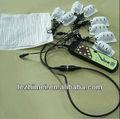 silencioso e potente sistema de massagem com 8 motores de vibração e adaptador para casa