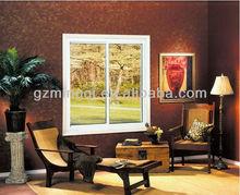 aluminum framed double glaze sliding windows
