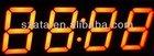 factory supply 0.28 inch four digits orange 7 segment digital led clock display