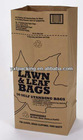 kraft paper bag for lawn and leaf packing