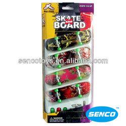 4 skateboard Finger toys