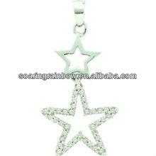 cz gemstone pendant