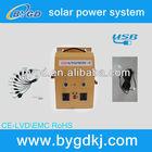 12v 24v portable wall-hanging micro inverter for solar panels 500w (BYGD500)