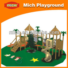 Christmas Wooden Outdoor Playground /children favorite type outdoor playsets 8076B