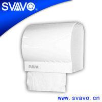 V-7401 plastic small round roll tissue holder