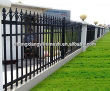 ornamental garden fence in artistic design