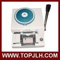 manual de plástico tarjeta de grabación en relieve de la máquina