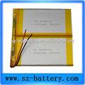 3.7v androide tablet pc sostituire li- polimero batteria ricaricabile
