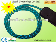 Popular thin flashing chasing wires for clothes decoration