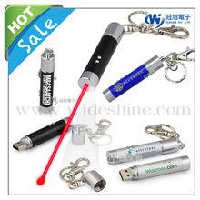 led laser pointer keychain laser pen for led promotion gifts
