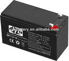 SMF batteries 12V7.2AH for large UPS and computer standby with CE approval