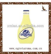 juice bottle shape promotional room paper perfume card air freshener