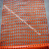 100% virgin HDPE orange construction barrier fence plastic mesh safety netting
