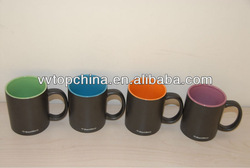 hot sale stoneware coffee cup and mug with double glaze