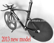 700C carbon wheels TT Bike Frame/fork/aero handlebar Racing Road Bike Bicycle