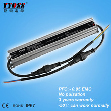 PFC>0.95 25W Mean Well LED Driver 700mA Top Quality Life Span Over 50,000hrs