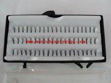 OEM eyelash extension supply / individual flare lashes wholesale price knot free cluster lashes