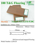 Anti-aging and recyclable wpc pavilion/laminate flooring