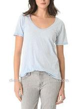 bunchy knit charming lady t shrit/custom t shirt/tops/women apparel