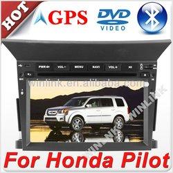 "Digital touch screen 6.2"" car radio gps for honda pilot"