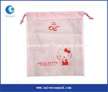 Small non woven drawstring bags