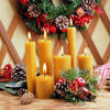 zhongyi natural beeswax candle,beeswax candle manufacturer
