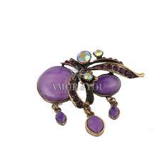 Resin Beads Unique Design Brooch Wedding Flower Brooch Corsage
