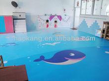 child PVC vinyl floor mat