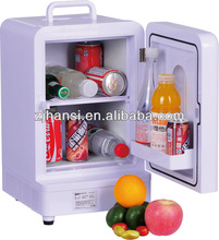 220V 12V portable 15L mini car fridge for camping