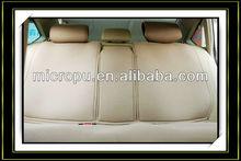 1.0 mm pu leather veins pu microfiber for car seat