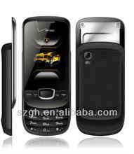 2012 new Slide TV camera cellphone 2 SIM bluetooth phone 5570 2.2 inch scren ZHANXUN6620 cell phone