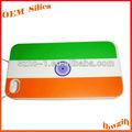 forma de promoção deimpressão na índia bandeira celular borrachadesilicone capa para 4g de telefone