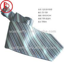 Stripe silk jacquard necktie