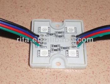 promotion!!! 5050 SMD RGB LED module,0.96W;DC12V;20pcs a string