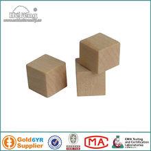 Blank Square Corner Dice/Wood Cube