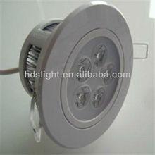 5w ip44 220v led downlight recessed adjustable