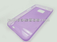 Crystal Transparent Clear Hard Back Cover Protective Case for Samsung Galaxy S2 i9100
