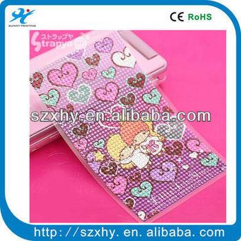 Twin Stars Jewelry Cell phone sticker