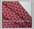 indianimpressão gradiente de chiffon de seda tecido