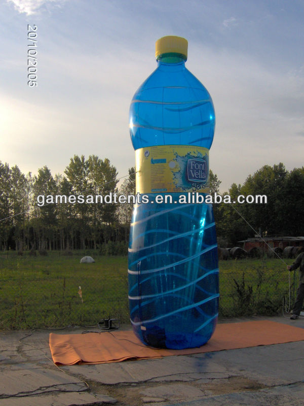 hot sale inflatable bottle giant balloon for advertising F7033