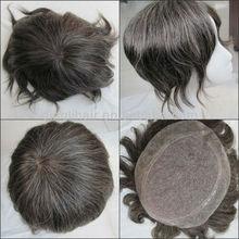 Japan mens toupee,mens toupee with gray hair wholesale