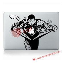 "For Apple Macbook Sticker! holesale Super Men Design Dcorative Sicker for Macbook Air/Pro 13.3""/Dcorative Sicker for Macbook"