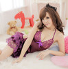 Sexy Lingerie Japanese Sweet princess Layered dress Lingerie +G String Set Sexy Sleepwear, W1347