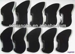 Neoprene Golf Iron Head Cover With Black