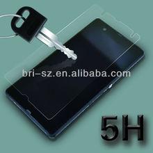 new 5H Vajra anti scratch ultra crystal clear screen protector film for Sony Yuga C660X Xperia Z L36i