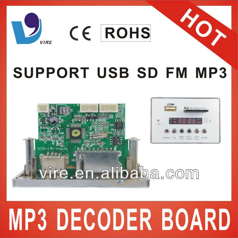usb mp3 player board